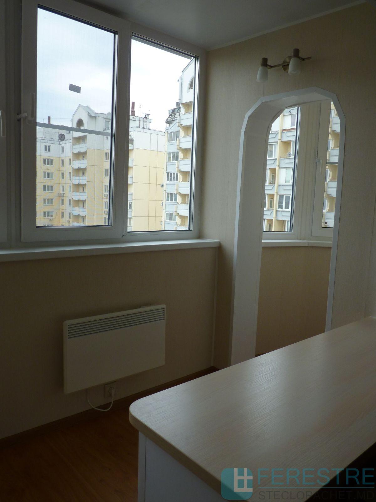 Преимущества остекления балконов, Молдова Кишинев